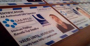 CAA PFCO Members Card